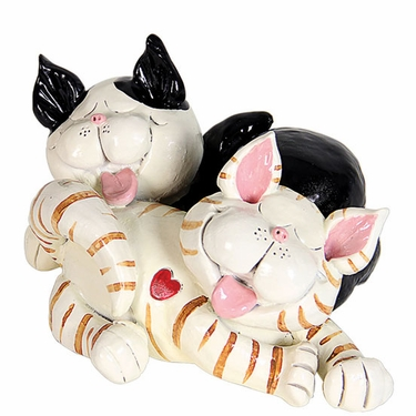 Cuddling Cats Statue - Click to enlarge