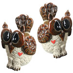 Owl Planters (Set of 2)