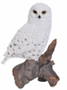"Perched Snowy Owl ""Ultra-Realistic"""