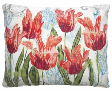 Perennial Garden 2 Outdoor Pillow - Click to enlarge