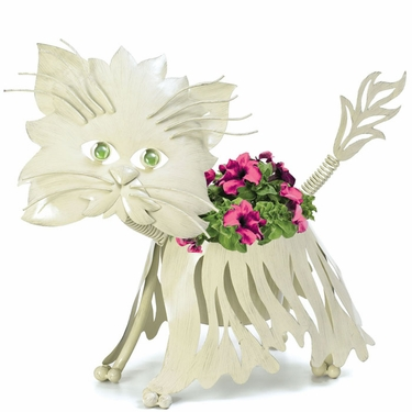 Persian Cat Planter - Click to enlarge