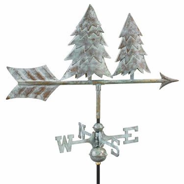 Pine Trees Weathervane - Click to enlarge