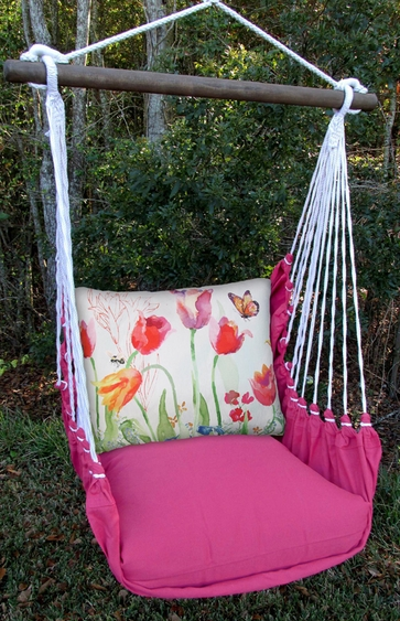 Pink Aviary Butterrly Hammock Chair Swing Set - Click to enlarge