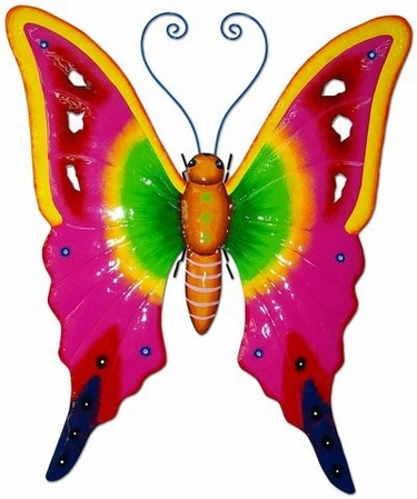 Pink Butterfly 3D Wall Decor - Click to enlarge