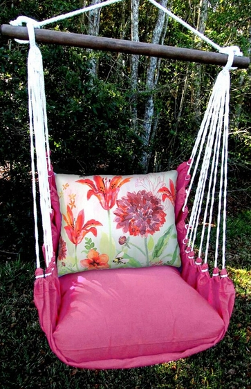 Pink Collection Bumblebee Hammock Chair Swing Set - Click to enlarge