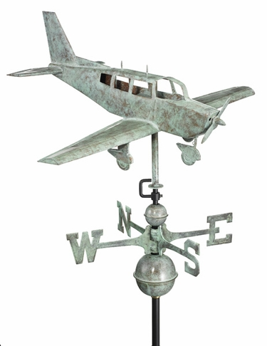 Piper Airplane Weathervane - Click to enlarge