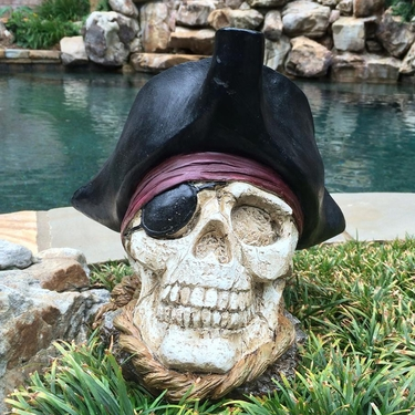 Pirate Skull Decor - Click to enlarge
