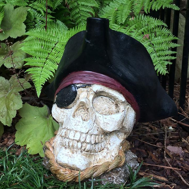 Pirate Skull Decor only $44.95 at Garden Fun