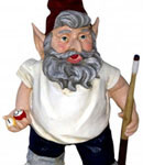 Pool Shark Gnome