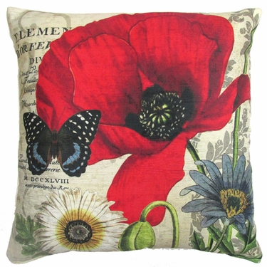 Poppy 2 Outdoor Pillow - Click to enlarge