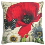 Poppy 2 Outdoor Pillow
