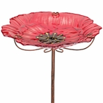 Poppy Glass Bird Feeder