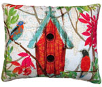 Prism Garden 1 Outdoor Pillow