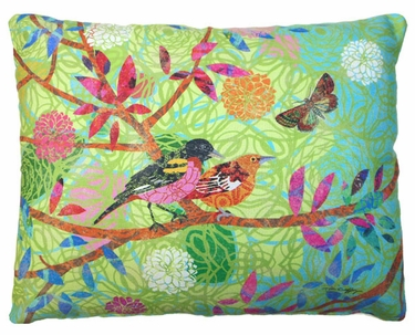Prism Garden 11 Outdoor Pillow - Click to enlarge