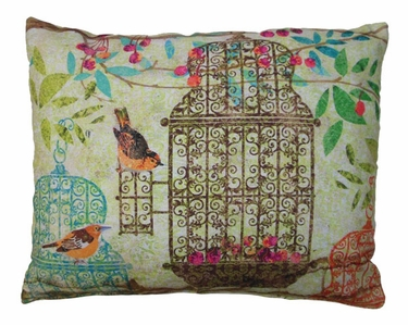 Prism Garden 6 Outdoor Pillow - Click to enlarge