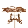 Pro Stock Car Weathervane