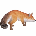 "Prowling Fox Statue ""Ultra-Realistic"""
