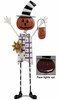 Solar Pumpkin Man Decor