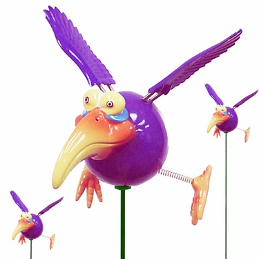 Purple Dodo Birds (Set of 12) - Click to enlarge