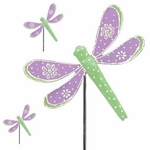 Purple Dragonfly Picks (Set of 6)