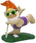 Purple Mankini Gnome - OMG!