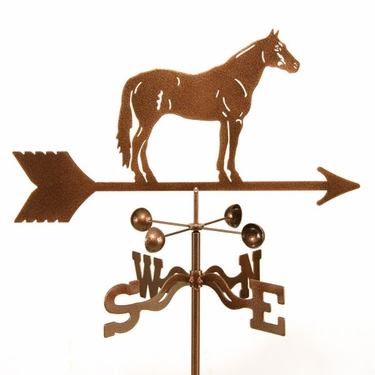 Quarter Horse Weathervane - Click to enlarge
