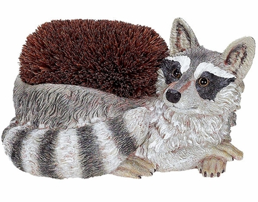 Raccoon Boot Brush Scraper - Click to enlarge