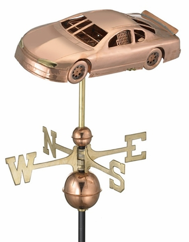 Race Car Weathervane - Click to enlarge