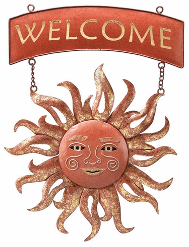 Radiant Sun Welcome Sign - Click to enlarge