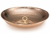 Rain Chain Basin - Polished Copper