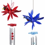 Songbird Wind Chime Whirligigs (Set of 2)