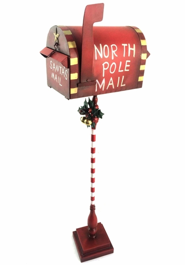 Red Christmas Mailbox Only 119 99 At Garden Fun