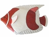 Red Clown Fish Wall Decor