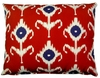 Red Design Outdoor Pillow