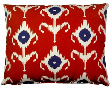 Red Design Outdoor Pillow - Click to enlarge