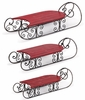 Holiday Red Display Sleds (Set of 3)