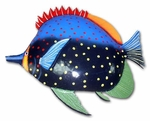Red Fin Hump Fish Wall Decor