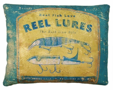 Reel Lures Outdoor Pillow - Click to enlarge