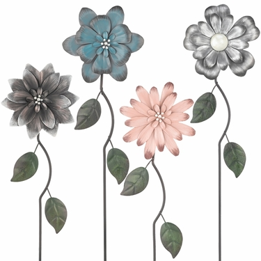 Refined Flower Picks (Set of 4) - Click to enlarge
