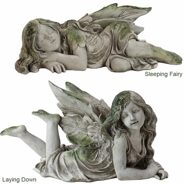 Resting Fairies (Set of 2) - Click to enlarge