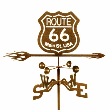 Route 66 Weathervane - Click to enlarge