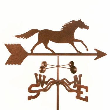 Running Horse Weathervane - Click to enlarge