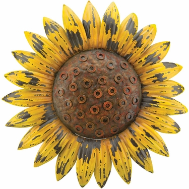 Rustic Sunflower Wall Decor - Click to enlarge