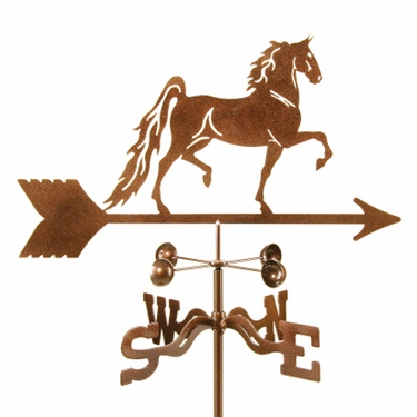 Saddlebred Horse Weathervane - Click to enlarge