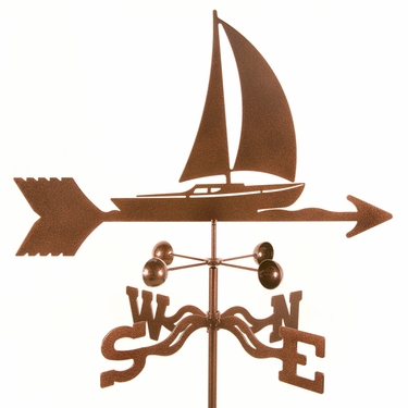 Sailboat Weathervane - Click to enlarge