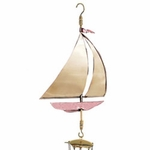 Sailboat Wind Chime - Polished