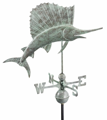 Sailfish Weathervane - Click to enlarge