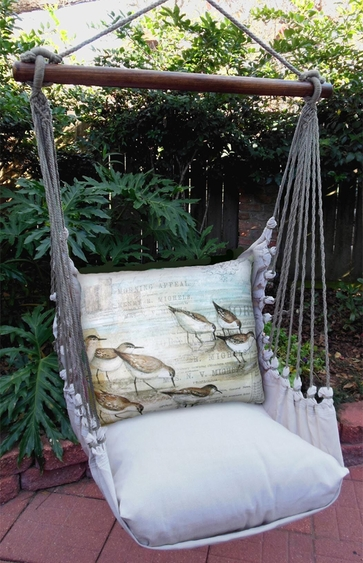 Sandpipers Hammock Chair Swing Set - Click to enlarge