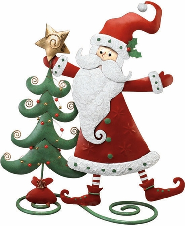 Santa Clause Decoration - Click to enlarge