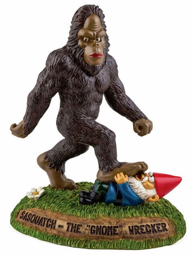 Sasquatch the Gnome Wrecker - Click to enlarge